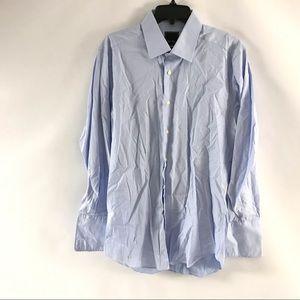 David Donahue Dress Shirt Sz 161/2 32/33 Mens